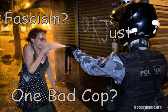 facism or one bad cop