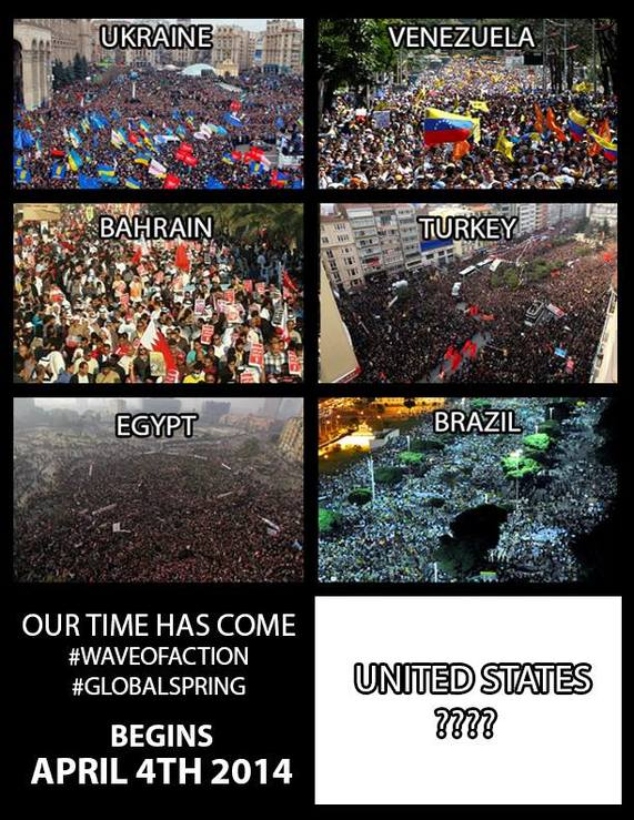 world wide wave of action