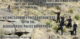 "Occupy Radio: ""No One Survives"" David Correia on the Abluquerque PD"