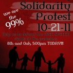Community, Solidarity, Protest: March to help defend the free speech rights of the occupy protesters!