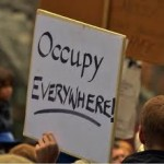 OE Activists Occupy Courtyard of Old Federal Building