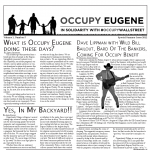 The Eugene Occupier Calls for Submissions