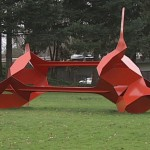 Bruce Beasley's 'Big Red' Becomes Willing Participant of Occupy Eugene
