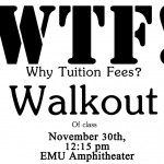 Education Alliance Walkout Poster