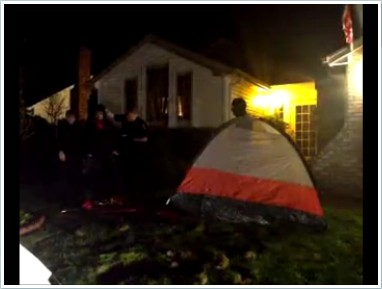 Occupy Eugene Tent Monsters