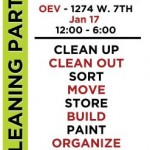 Occupy V Cleaning Party!