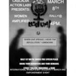 Women Amplified: International Women's Day March